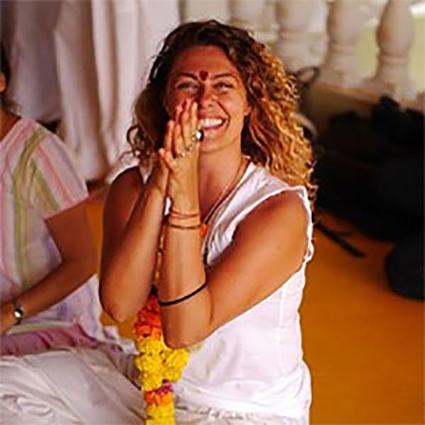 Christina Ahamnos Yoga Teacher
